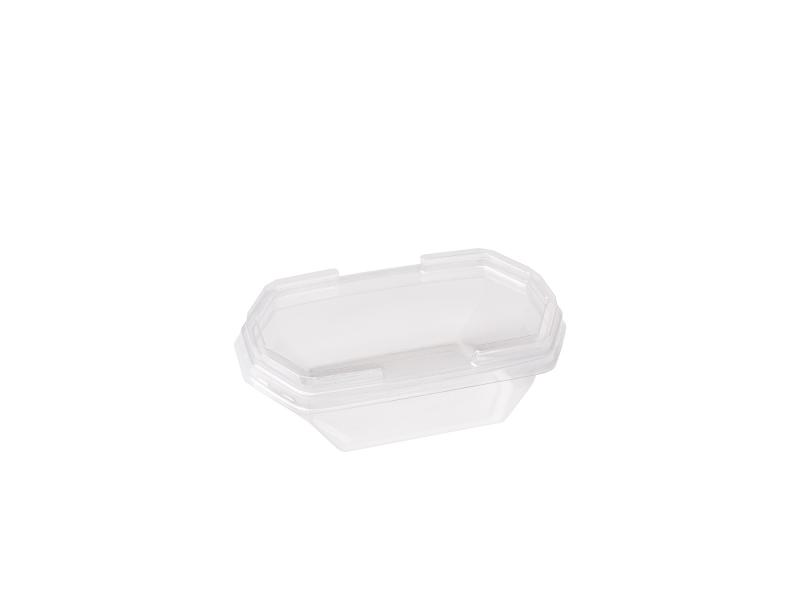 Transparent plastic tray octagon 150g-250g