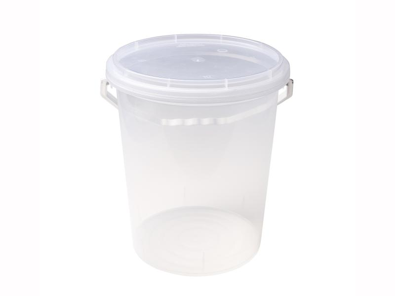 Transparent Plastic bucket 3500kg-5200gr