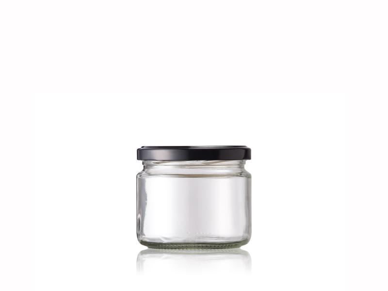 Glass jar 330ml