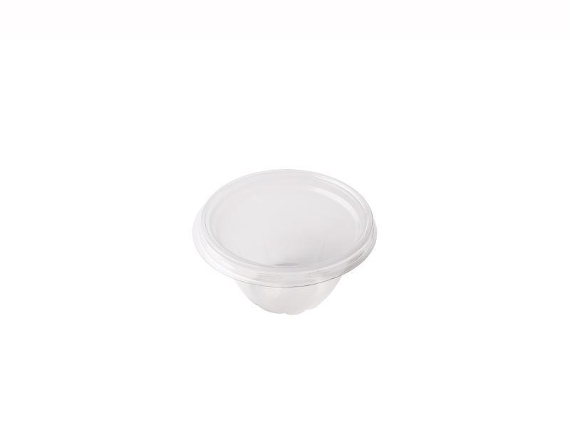 Transparent Round plastic tray 60g-110g